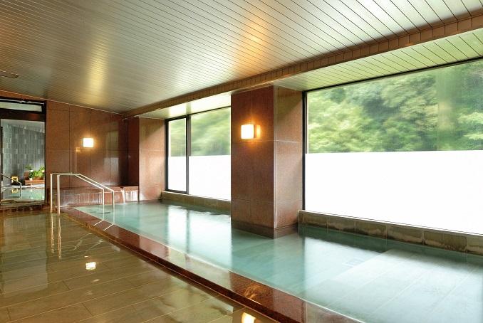 絹の湯 展望大浴場