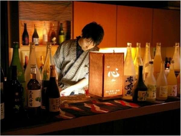 梅酒Bar「心」約60種類のソムリエセレクトの梅酒をお楽しみください☆