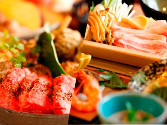 夕食:足柄遊膳/炙り焼