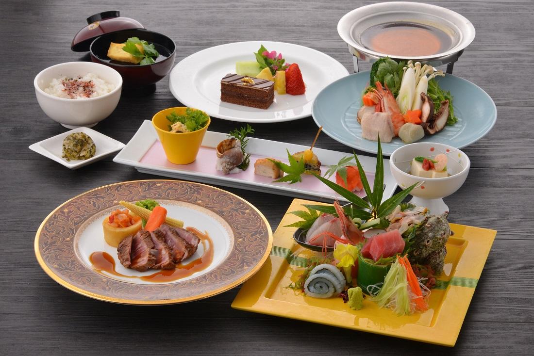 夕食:和洋折衷コース(秋)の料理イメージ