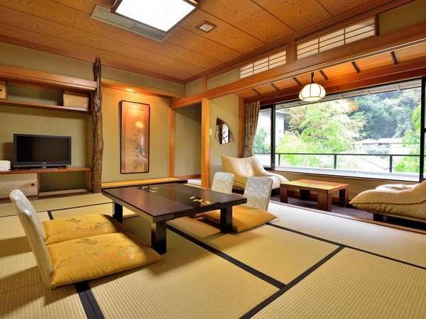 山側客室の一例